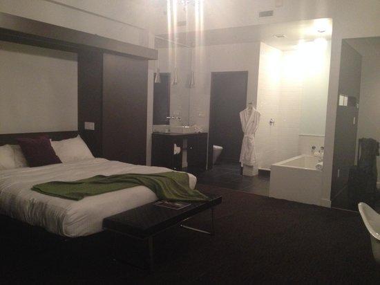 Hotel Metro: Room view