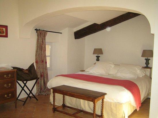 Hostellerie de l'Abbaye : la chambre