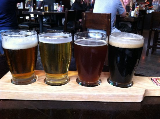 Frank & Steins Eatery & Pub: High Octane Flight