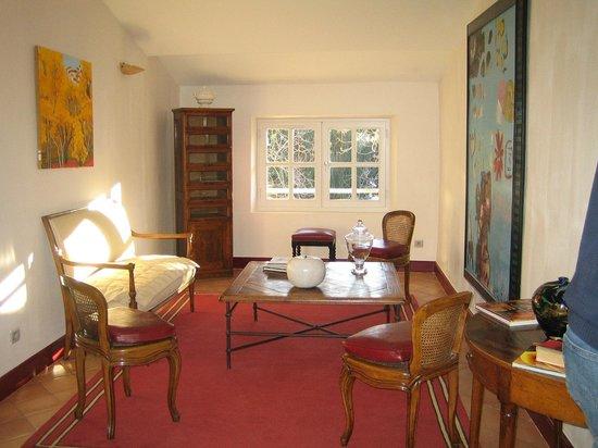 Hostellerie de l'Abbaye : salon