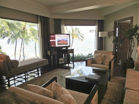 Dusit Thani Hua Hin : Dusit Suite Living Room