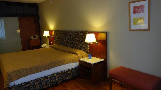 Hotel NH Buenos Aires Latino: Vista do quarto.