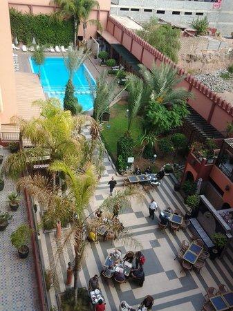 Diwane Hotel: la piscine