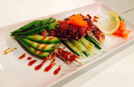 Fusion Korean Restaurant: Soft Shell Crab
