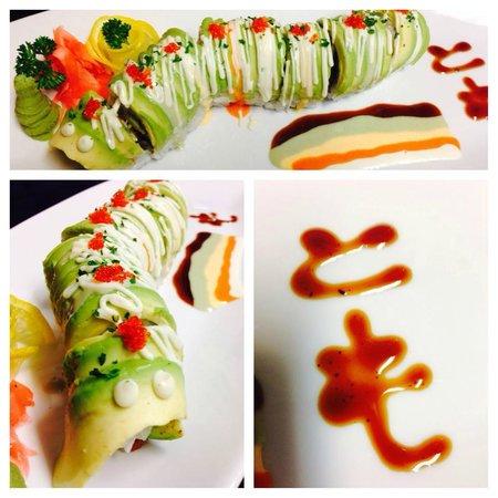 Fusion Korean Restaurant: Caterpillar Roll