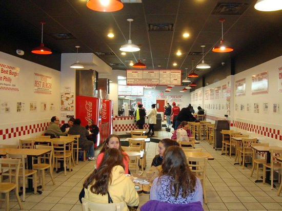 Five Guys At Chestnut Street