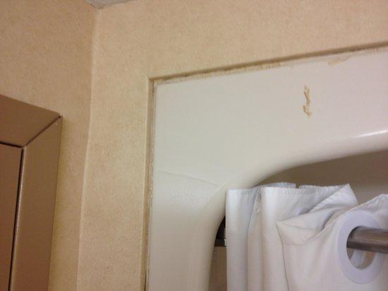 Comfort Inn Port Hope: Caulking needs replacing