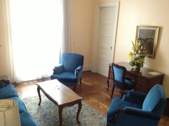 Gran Hotel Bolivar: Living room