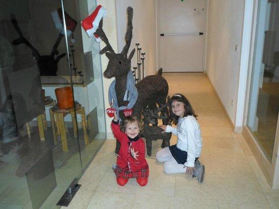 Hotel Tratterhof: La zona relax con le mie piccole