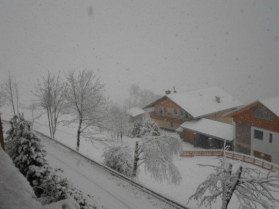 Hotel Tratterhof: Il giorno del rientro che neve......