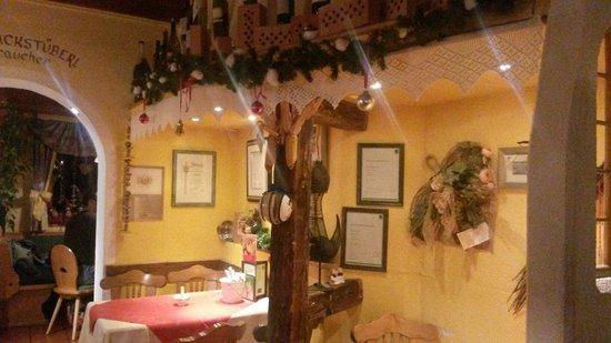 Restaurant Landhaus-Stüberl: Dettagli salette varie molto bello!