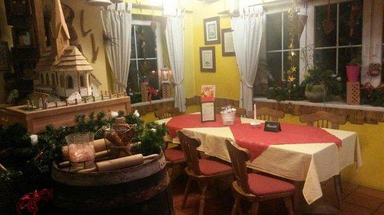 Restaurant Landhaus-Stüberl: Dettagli natalizi