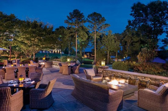 The Ritz-Carlton Reynolds, Lake Oconee: Georgia's Bistro terrace