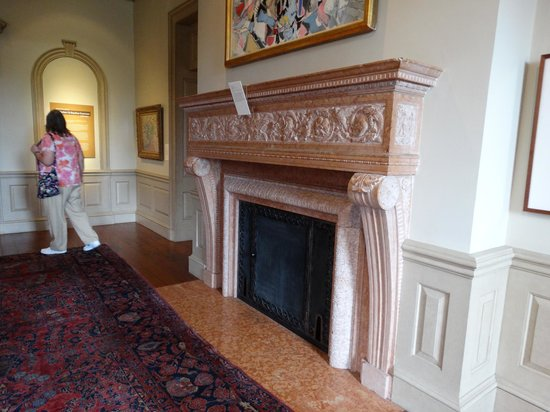 Philbrook Museum of Art: Fireplace in Philbrook