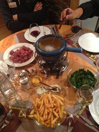 La Raclette : Duck Fondue