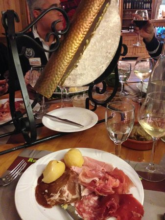 La Raclette : Raclette