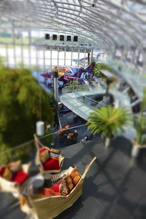 Bar Mayday - Red Bull Hangar-7: view from bar
