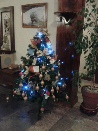 Patagonia Queen: Árbol de Navidad del hotel :)