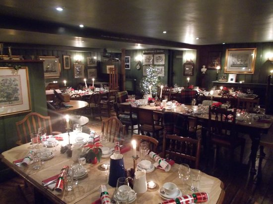 The Anchor Inn: Main dining are became dance floor