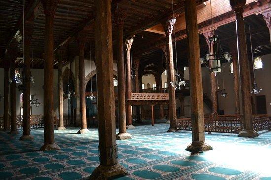 Konya, Turkey: Eşrefoğlu-moskee, een houten moskee