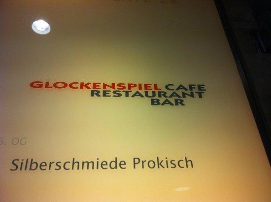 Cafe Glockenspiel: Restaurant logo / name