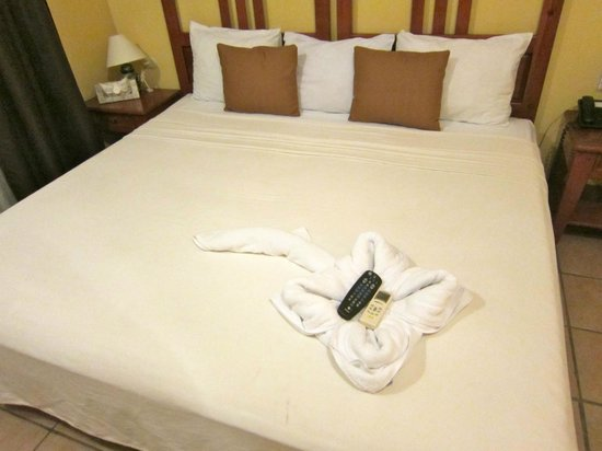 Hotel Riviera Caribe Maya : The room after daily cleaning