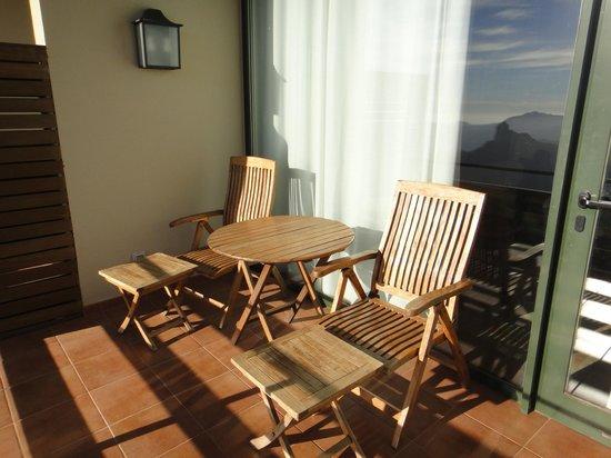 Hotel Parador de Cruz de Tejeda: Terraza
