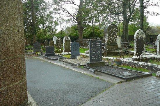 Drumcliffe Church: W. B. Yeats grave