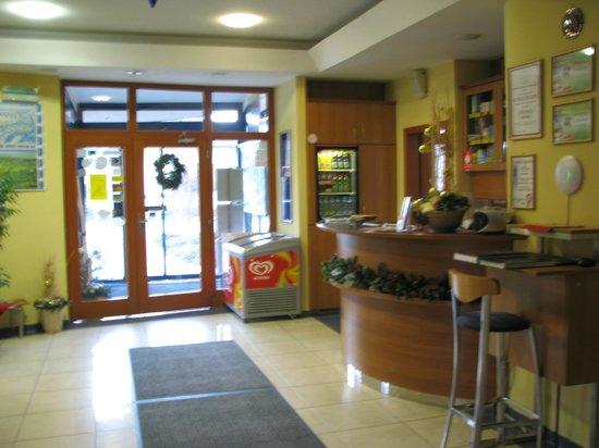 Penzion Fontana : Reception