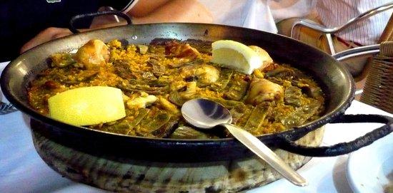 La Pepica : Paella alla valenciana