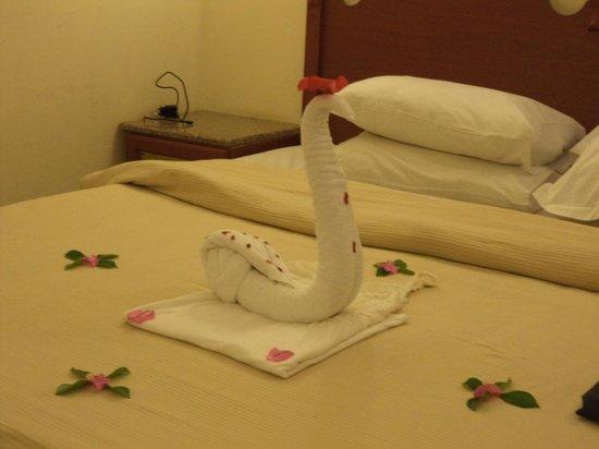 Dessole Aladdin Beach Resort: Verrassing personeel