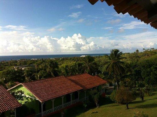 Sol Caribe Campo: Hermosa vista desde la habitacion