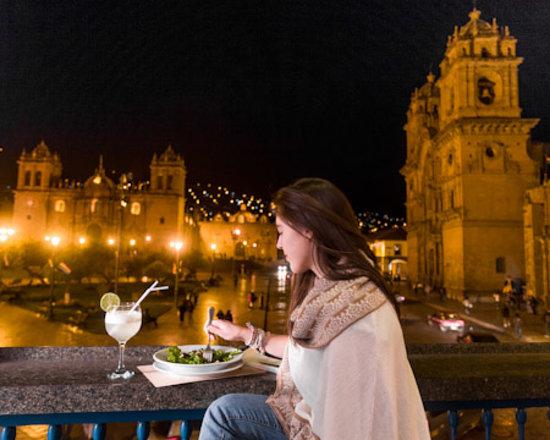Plaza de Armas Cusco Hotel: Vista  del restaurante