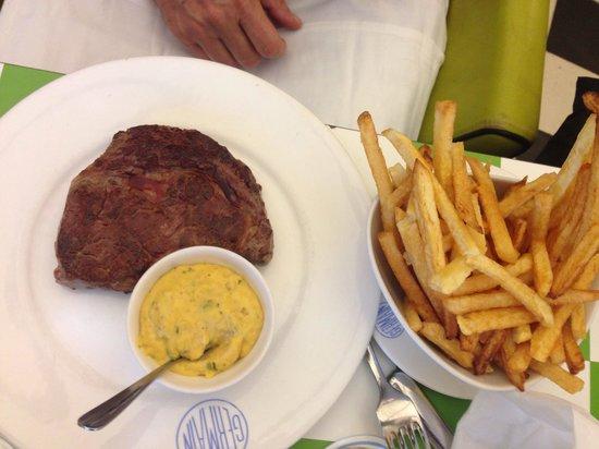 Cafe Germain: Entrecôte frites béarnaise
