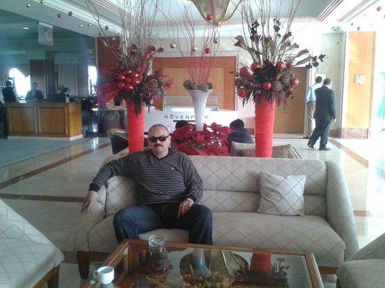 Hilton Pyramids Golf: اللوبى