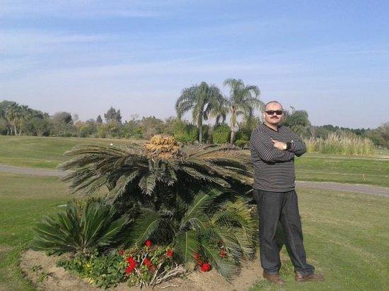 Hilton Pyramids Golf: المناظر الخلابه فى أرض الجولف