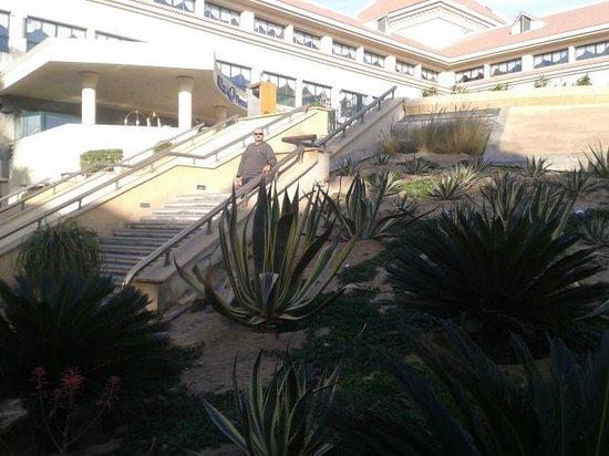 Hilton Pyramids Golf: الطريق الى حمام السباحه