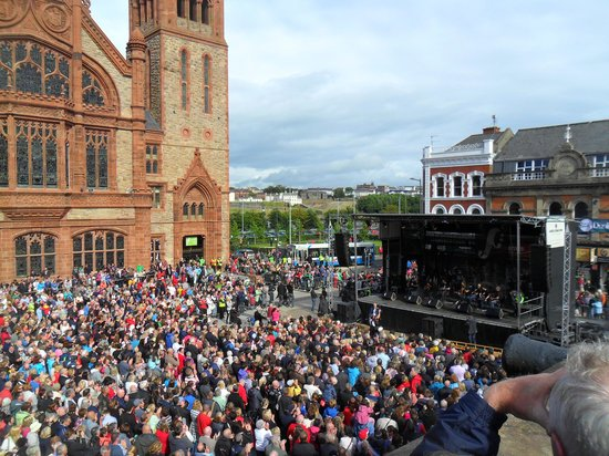 Maldron Hotel Derry: Opening of the Fleadh, August 2013