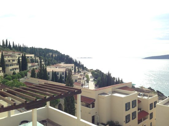 Sun Gardens Dubrovnik: Udsigten fra altanen