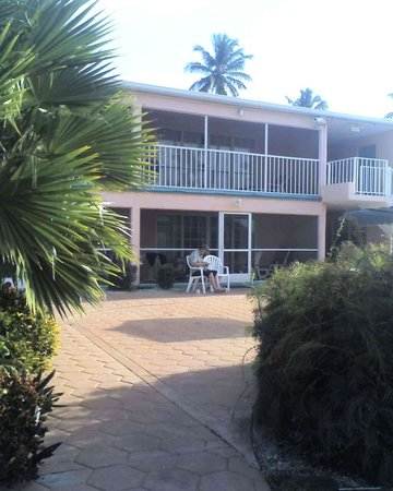 Breezy Palms Resort : The rooms at poolside