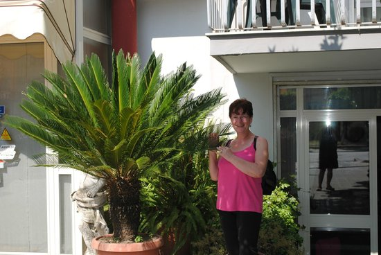 Hotel Calypso: foto della nostra amica Erika