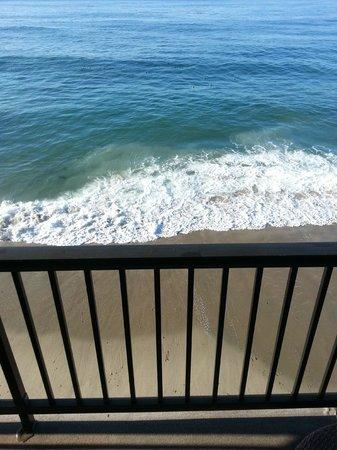 Surf & Sand Resort: My room's balcony!!