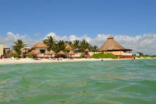 Fairmont Mayakoba: the beach