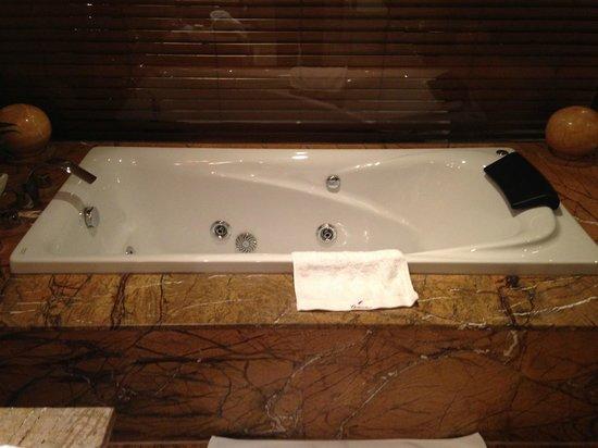 Christian's Hotel: Incredible bathtub.
