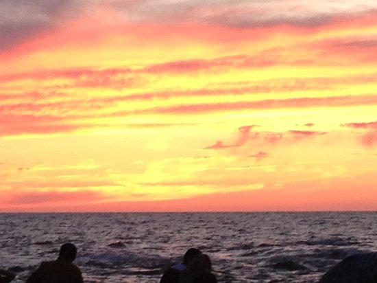 Ramasside Tours - Day Tours: Amazing sunset after a day in Alexandria by the castle