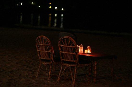 Palolem Beach Candle Light Dinner