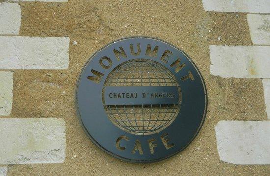 Monument Cafe Chateau d'Angers : Monument Café-The Logo
