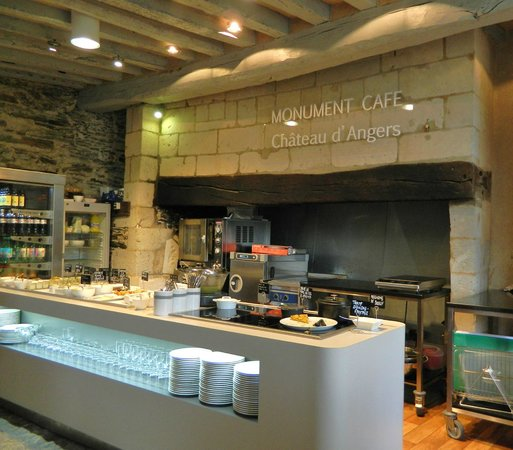 Monument Cafe Chateau d'Angers : The sweets