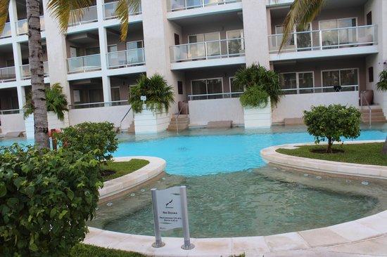Paradisus Playa Del Carmen La Esmeralda: quartos que saem na piscina