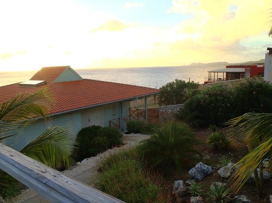 Caribbean Club Bonaire : View from back deck of penthouse #111